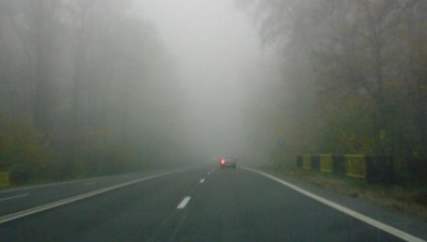 Atenţie! Cod galben de ceață în județul Satu Mare