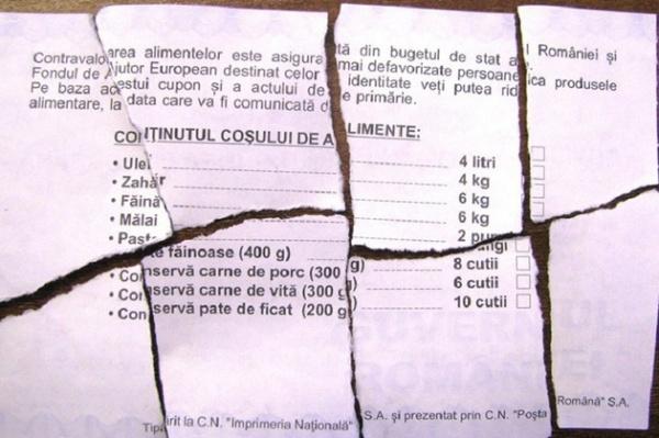 Ministerul Muncii a trimis o circulară primăriilor să returneze cupoanele pentru alimente pe care le-a trimis cu mare fast înaintea primului tur al alegerilor prezidenţiale