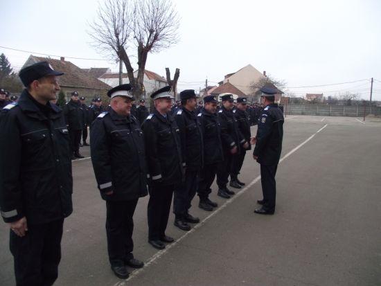 Jandarmi în misiune de Anul Nou