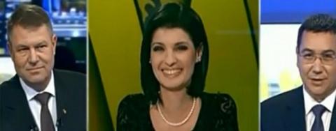 Soţia unui ministru din guvernul Ponta adresa întrebări la dezbaterea prezidenţiabililor