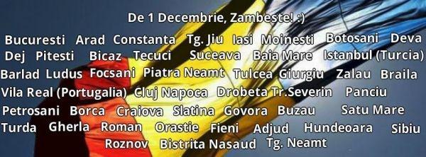 """""""De 1 Decembrie, românii Zâmbesc!"""""""