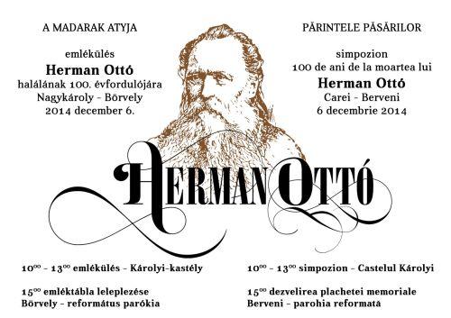 Comemorare Herman Ottó