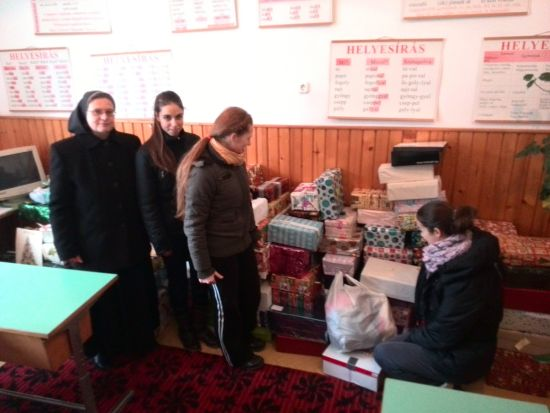 Campania Cutia cu cadouri a ajuns la final