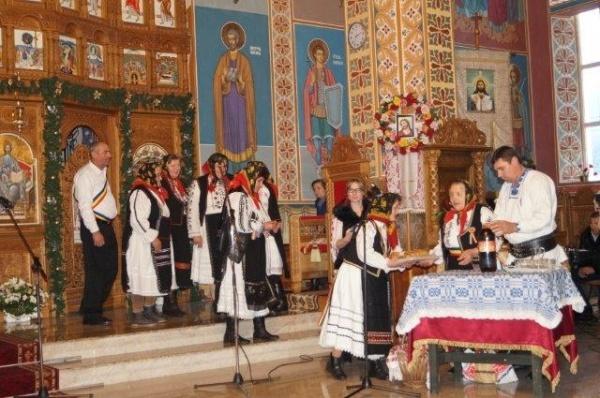 Mărnenii premiaţi la Festivalul de Datini şi Obiceiuri de Iarnă de la Negreşti-Oaş