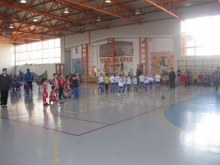 Kinder Carei  câştigă Turneul pentru copii organizat de FC Bihor
