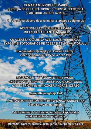Industria electroenergetică la 110 ani de existență în Carei