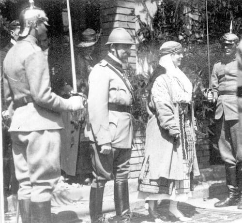 Vizita la Carei a Regelui  Ferdinand al României