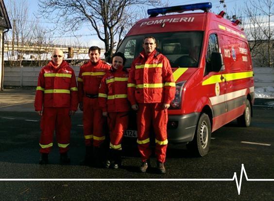 Echipaj de Terapie Intensivă Mobilă la SMURD Satu Mare