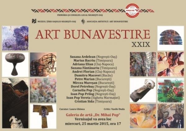 Invitaţie  la Art Bunavestire, ediţia a XXIX-a
