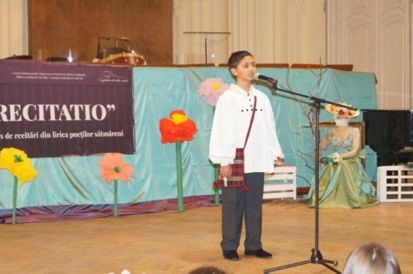 Tinerii astrişti apreciaţi de instituţiile de cultură careiene