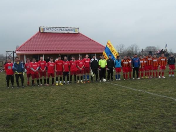 Platanul Marna începe în forţă meciurile de pregătire din cadrul  Ligii a V-a a Campionatului de fotbal