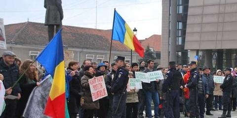 Marș împotriva poluării la Alba Iulia