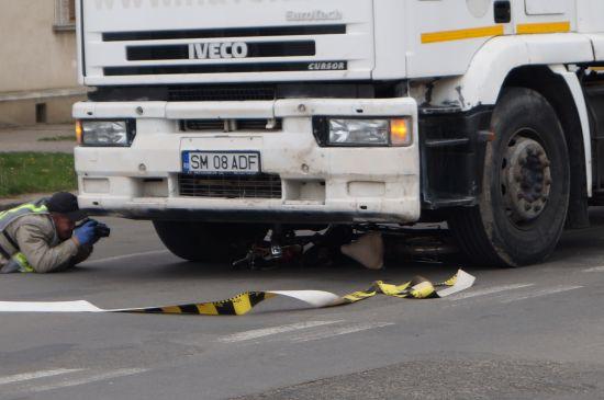Accident tragic în centrul Careiului