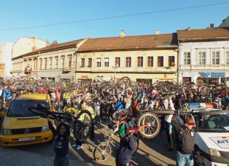 La Oradea se poate! Bicicliştii orădeni cer respect în trafic