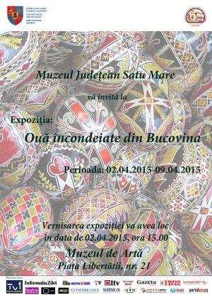 Expoziţie de icoane pe sticlă şi Ouă încondeiate din Bucovina la Muzeul Judeţean Satu Mare