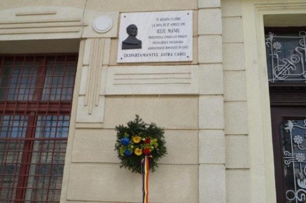 Carei. 27 aprilie 1919-27 aprilie 2017. Contribuţia arhidiaconului Romulus Marchiş preşedinte al Consiliului Naţional Român la Marea Unire