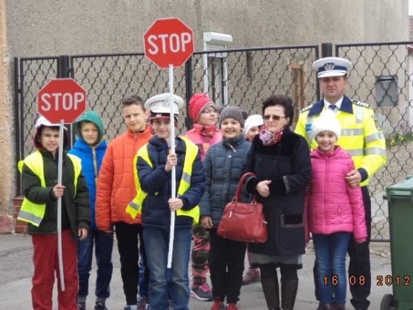 Şcoala Altfel-Şcoala Siguranţei Rutiere pentru elevii din Negreşti Oaş, Livada şi Carei