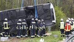 Accident în Germania cu autocar românesc