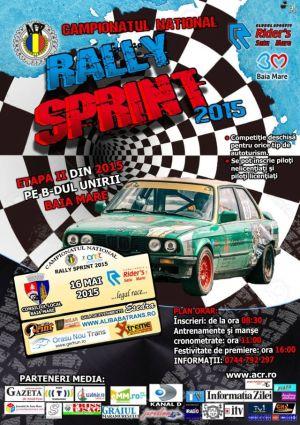 """A doua etapă în Campionatul Naţional de """"Rally Sprint"""" 2015"""