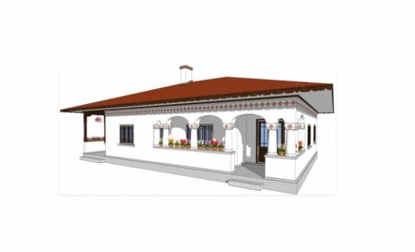 Singurul arhitect care face case în stil românesc tradiţional