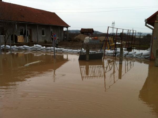 Inundaţii la Turţ