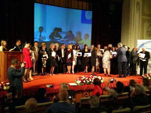 Victor Oprea la aniversarea a 25 de ani de la înfiinţarea FSLI