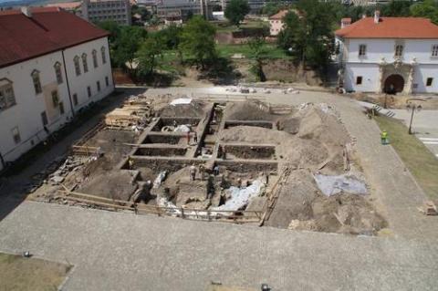 Biserică ortodoxă bizantină de secolul X descoperită la Alba-Iulia