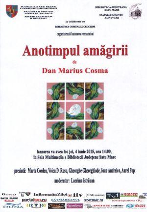 Lansare de carte Dan Marius Cosma la Biblioteca Județeană