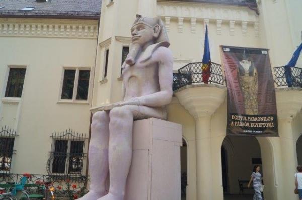 ,,Egiptul faronilor'' a poposit la Carei. Legăturile dacilor cu egiptenii