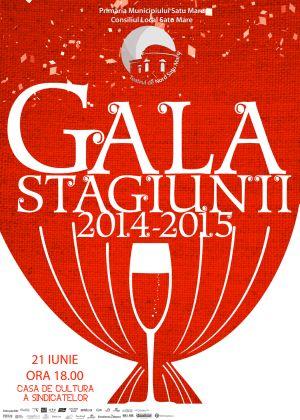 GALA STAGIUNII 2014 – 2015 la Teatrul de Nord