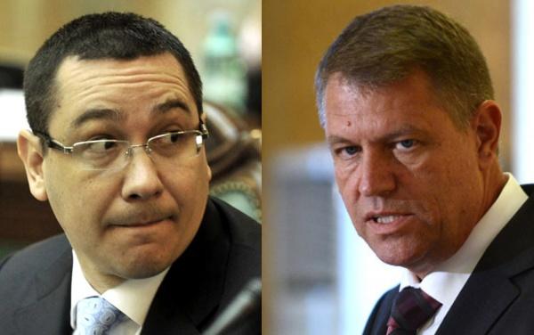 Iohannis: Există două Românii, una a cetățenilor simpli și una a lui Ponta?