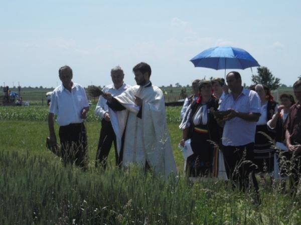 Tradiţii:  Sfinţirea holdelor la Marna Nouă