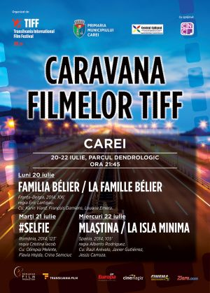 Caravana TIFF la Carei – program