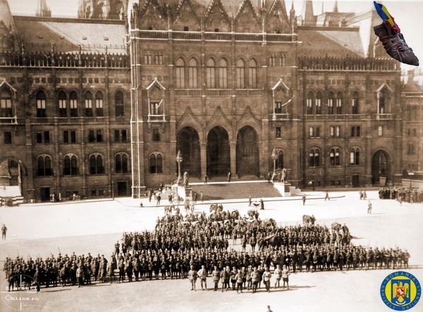 96 de ani de la eliberarea Budapestei aflată sub regim comunist  de către Armata Română