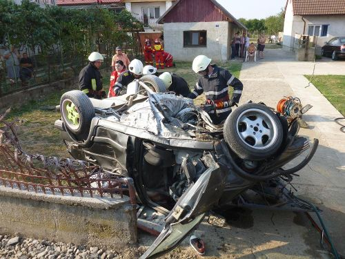 Accident cu 6 victime