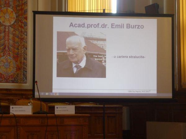 Acad. Emil Burzo la 80 de ani. Mesajul  ASTRA Carei