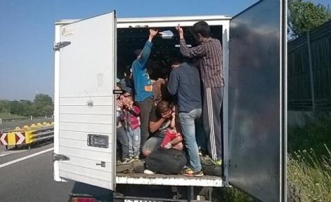 Austria a redirecționat cinci mii de refugiați înspre România și Bulgaria