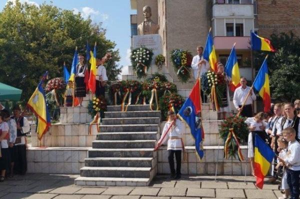 Bustul lui Avram Iancu din Carei  este propus spre demolare