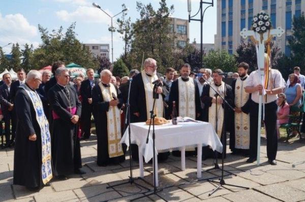 Comemorare și parastas în memoria lui Avram Iancu la Carei