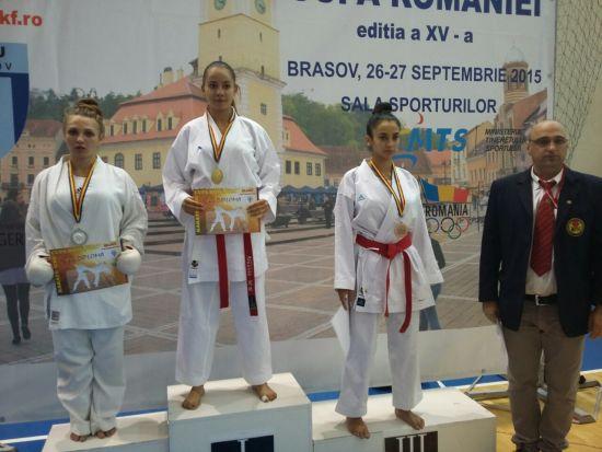 Karate: Rezultate  remarcabile  pentru  CSM Satu Mare la Cupa  României