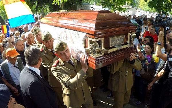 Funeraliile lui Vadim Tudor