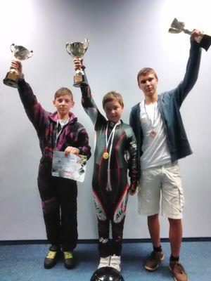 Karting:  3 medalii pentru careieni