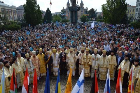 Cuvântul PS Iustin Sigheteanul la  întâlnirea tinerilor ortodocși europeni de la Cluj-Napoca
