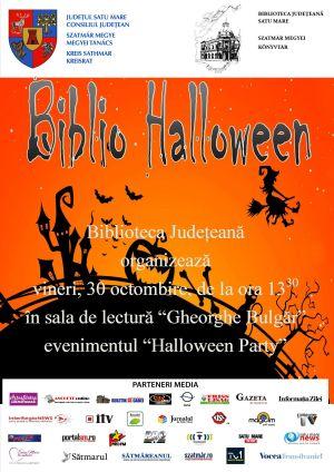 Halloween Party la Biblioteca Judeţeană