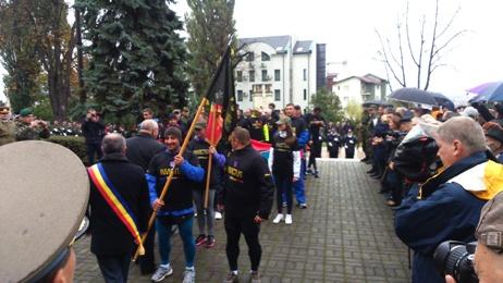 Ștafeta Veteranilor de Război se apropie de Carei. Astăzi a ajuns la Cluj Napoca
