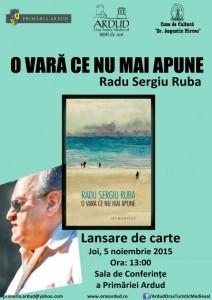 Lansare de carte Radu Sergiu Ruba