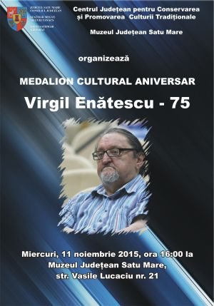 Medalion Cultural – Virgil Enătescu