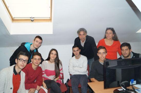 Elevi și profesori din cinci țări la Liceul Teoretic Carei