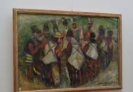 Cunoscutul pictor Aurel Ţenţ la 85 de ani