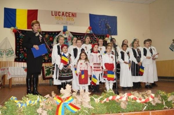 Comemorarea lui Vasile Lucaciu la Lucăceni